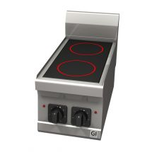 Gastro-Inox 600 Trendline elektrisch keramische kookplaat 103.109