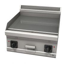 Gastro-Inox 600 Trendline elektrische bakplaat met glad geslepen plaat, 400V 103.121