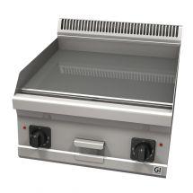 Gastro-Inox 600 Trendline elektrische bakplaat met glad geslepen plaat 103.126