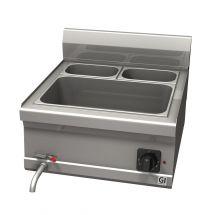 Gastro-Inox 600 Trendline elektrische bain-marie, GN1/2 + GN1/4 103.150