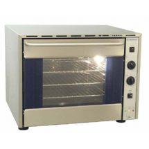 """Euromax heteluchtoven 2/3 """"Sidegrill"""" met grill valdeur 10950GBL"""