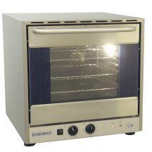 """Euromax heteluchtoven 2/3 """"Congrill"""" grill met 2 motoren valdeur 10990GBL"""