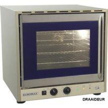 """Euromax heteluchtoven 2/3 """"Congrill"""" grill met 2 motoren draaideur 10991GPB"""