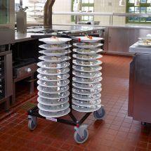 Jackstack verrijdbaar bordenrek geschikt voor 52 borden 309.004
