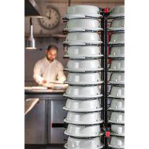 Jackstack verrijdbaar bordenrek geschikt voor 72 borden 309.005