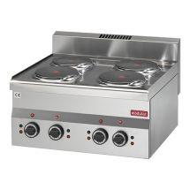 Modular 600 Kookplaat 4 platen 316608