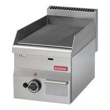 Modular 600 Bak/grillplaat glad gas 316630