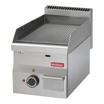 Modular 600 Bak/grillplaat ribbel electr. 316638