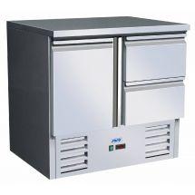 SARO Gekoelde werkbank model VIVIA S 901 S/S TOP 2 x 1/2 323-10062