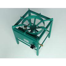 Van Holten Kooktoestel 400-B propaan groen gemoffeld staal 400-01P-450
