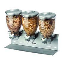 Bartscher 3-voudige ontbijtgranendispenser 500379
