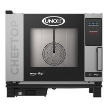 Unox Cheftop Mind One combisteamer power version greep links 5x1/1gn-400 596235 Mindmaps One XEVC-0511-E1L