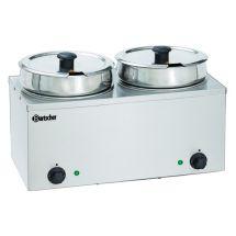 Bartscher Bain-Marie Hotpot, 2x pan, 6,5 L 606065