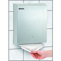 Bartscher Pap. handdoekdispenser, CNS, geb. 850006