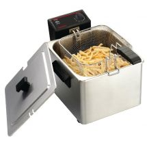 Caterlite enkele friteuse voor licht gebruik 8ltr CD274
