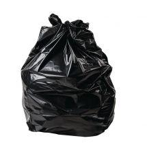 Jantex grote zware kwaliteit vuilniszakken zwart (100 stuks) CD508