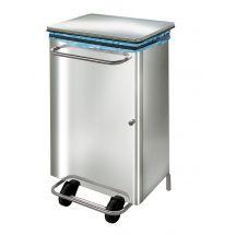 Sofinor professionele RVS vuilnisbak / pedaalemmer design CPB09C