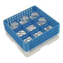 Bekerglaskorf 9 vaks CR09-0A