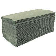 Jantex Z-gevouwen handdoeken 1-laags groen (15 stuks) DL923