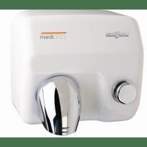 Mediclinics Handendroger wit drukknop 12260