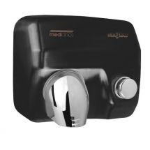 Mediclinics Handendroger zwart drukknop 12285