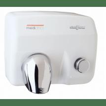 Mediclinics Handendroger wit drukknop 12180