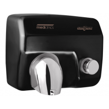 Mediclinics Handendroger zwart drukknop 12225