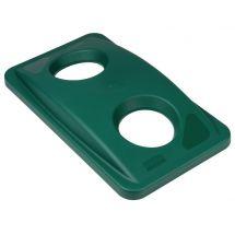 Rubbermaid Slim Jim deksel groen F636