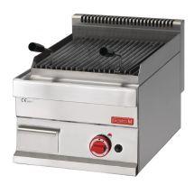 Gastro M lavasteen grill op gas 65/40 GRL GL919