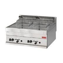 Gastro M 650 gas friteuse 2x 8L 65/70 FRG GL920