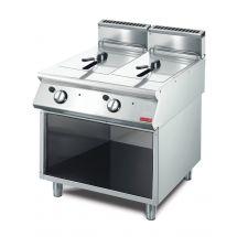 Gastro M 700 gas friteuse 2x 13L 70/80 FRG GL932