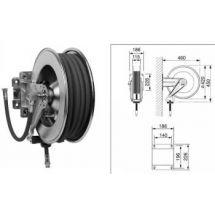 Open automatische slanghaspel RVS 10 meter FR-2110