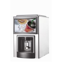 Brema ICEDISPENSER 70 PLUS professionele ijsblokjes dispenser + bunker, sproeisysteem