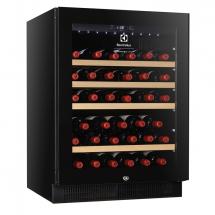 Electrolux Wijnkoelkast, 50 flessen, zwart, glasdeur, r600a 720000