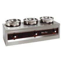Foodwarmer MAXPRO 3 potten hotpot bain marie 921453