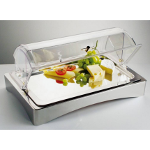 SALE -  Buffetvitrine gekoeld GN 1/1 Top fresh, excl. roltopdeksel