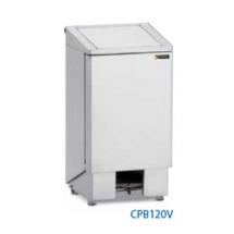 Sofinor professionele RVS vuilnisbak / pedaalemmer 60l design CPB60V