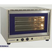 Euromax bakkersoven / heteluchtoven 60x40 1/1GN Aqua 2 met vocht 230V draaideur 10917PBH