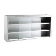 INOMAK wandhangkast met glazen schuifdeuren ETK316