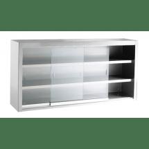 INOMAK wandhangkast met glazen schuifdeuren ETK319