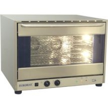 Euromax bakkersoven / heteluchtoven 60x40 1/1GN Aqua3 met vocht 400V valdeur 10908BLH