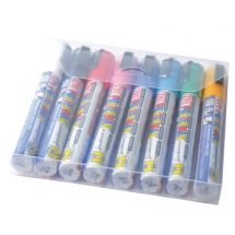 Securit Zig Posterman set weerbestendige krijtstiften 6mm assorti (8 stuks) Y993