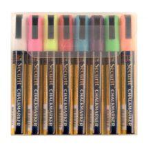 Securit set wisbare krijtstiften 6mm 8 stuks assorti (8 stuks) Y999